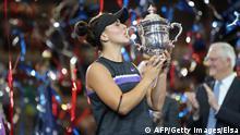 Tennis US Open | Frauen Finale Siegerin Bianca Andreescu