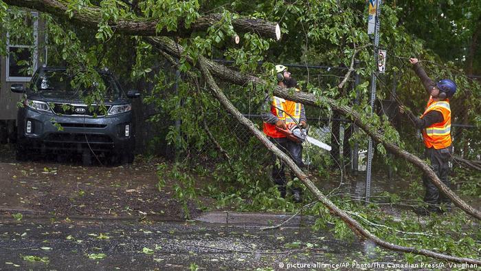 Kanada Hurrikan Dorian (picture-alliance/AP Photo/The Canadian Press/A. Vaughan)