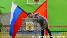 Russland Sankt Petersburg vor den Kommunal- und Regionalwahlen