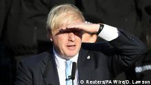 Rede Boris Johnson in West Yorkshire