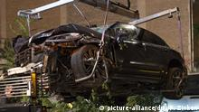Berlin: Four killed in accident as car mounts sidewalk