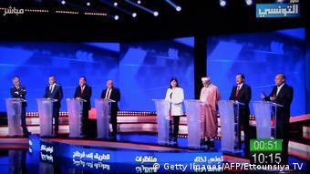 Tunesien | Präsidentschaftswahlkampf | TV-Duell