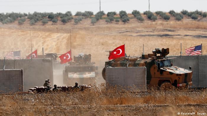 Nordsyrien l USA und Türkei starten gemeinsame Patrouillen (Reuters/M. Sezer)