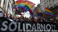 Bosnien-Herzegowina l LGBT-Pride Parade in Sarajevo