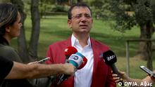 7.9.2019, Istanbul Türkei l İstanbuler Oberbürgermeister, Ekrem İmamoğlu