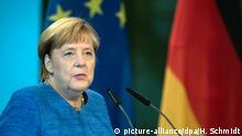 Deutschland l Kanzlerin Merkel bei der Eröffnung des Bauhaus Museums