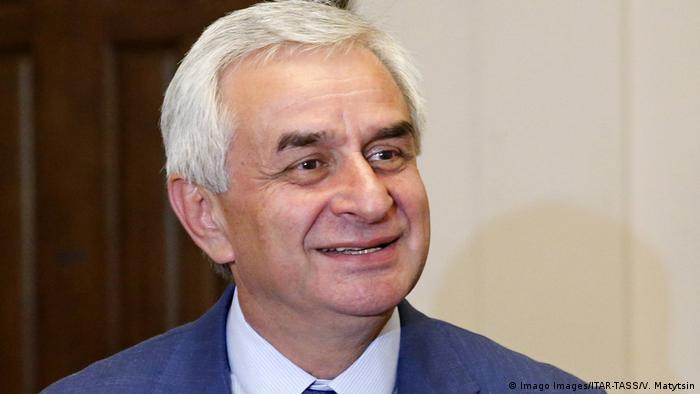 Глава Абхазии Рауль Хаджимба