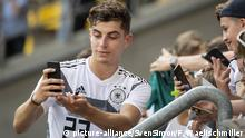 Deutschland Kai Havertz in der Nationalmannschaft (picture-alliance/SvenSimon/F. Waelischmiller)
