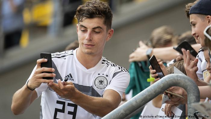 Kai Havertz The Candidate For Germany Sports German Football And Major International Sports News Dw 08 09 2019