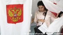 Russland Kommunal- und Regionalwahlen in Moskau l