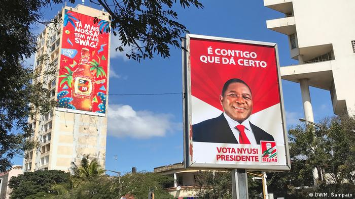 Mosambik Wahlkampf 2019