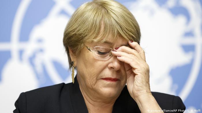 Michelle Bachelet UN Hohe Kommissarin für Menschenrechte