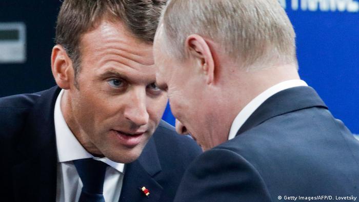 Le Monde: Путин в беседе с Макроном заявил, что Навальный мог сам принять ″Новичок″ | Новости из Германии о Европе | DW | 22.09.2020