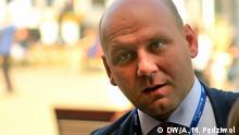 Polen Wirtschaftsforum in Krynica Vizeaußenminister Szymon Szynkowski vel Sęk auf dem Wirtschaftsforum