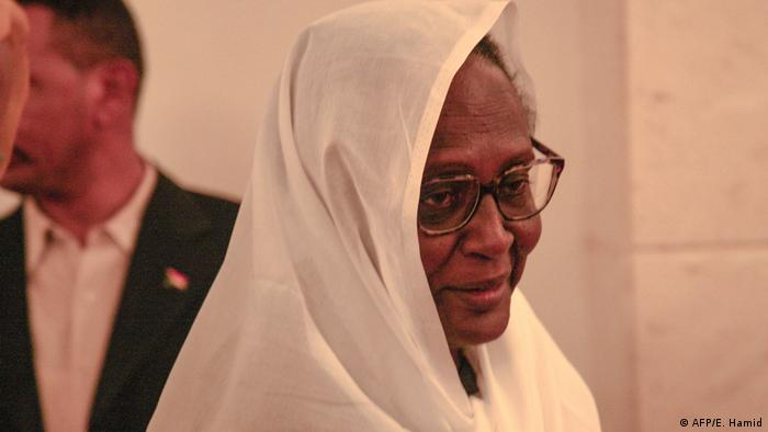 Asma Mohamed Abdalla Außenministerin Sudan (AFP/E. Hamid)