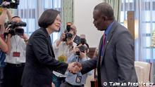 Taiwan Tsai Ing-Wen trifft Jeremiah Manele