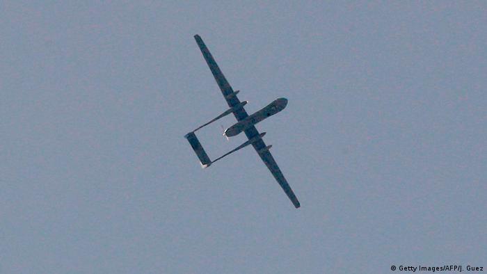 سقوط طائرة مسيرة تابعة للجيش الإسرائيلي جنوبي لبنان