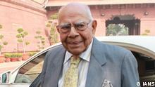 Senior advocate Ram Jethmalani. (File Photo: IANS)