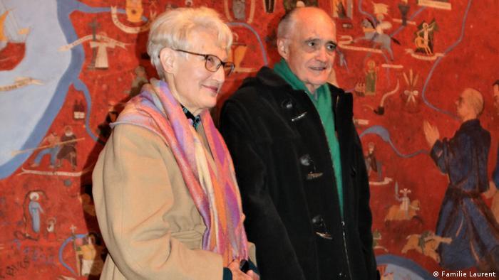 Deutschland Soest Pierre Laurent und seine Frau (Familie Laurent)
