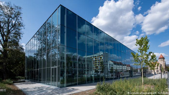 Новое здание Музея Баухауса в Дессау