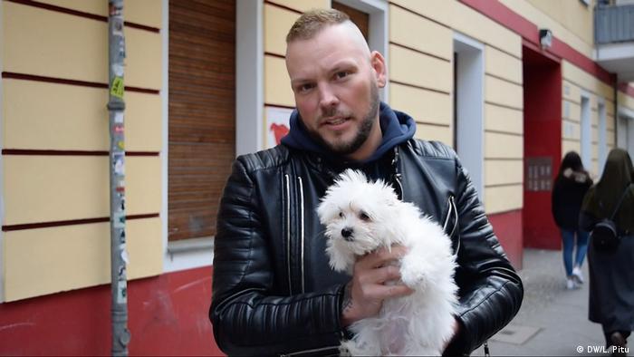Stefan Klippstein - Tierschützer aus Berlin (DW/L. Pitu)