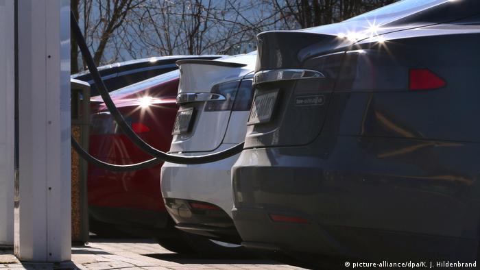 Elektroautos (picture-alliance/dpa/K. J. Hildenbrand)