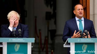 Irland Dublin Leo Varadkar empfängt Boris Johnson