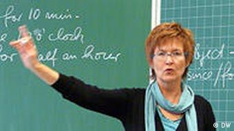 ute weber in the classroom