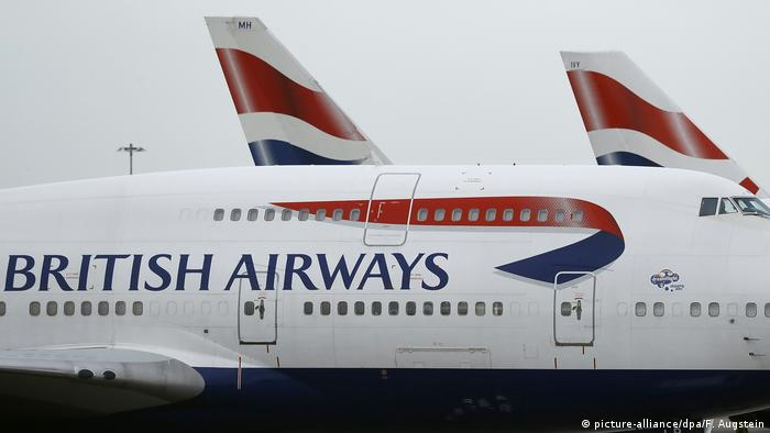 British-Airways-Piloten kündigen Streik im September an Symbolbild (picture-alliance/dpa/F. Augstein)