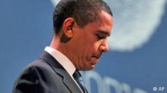 US-Präsident Obama UN Klimagipfel Kopenhagen Pressekonferenz
