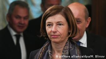 Russland: Florence Parly und Jean-Yves Le Drian in Moskau