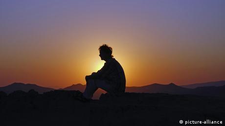 Sonnenuntergang Rose Valley, Türkei (picture-alliance)