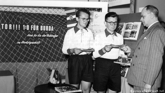 Frankfurter Buchmesse 1954 (picture-alliance/dpa/R. Koll)