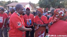 Mozambican parties in electoral campaign in Nampula province Was zu sehen ist: Manuel Rodrigues, FRELIMO candidate Wann und wo: September/2019 – Nampula, Mozambique Copyright: Sitoi Lutxeque, DW