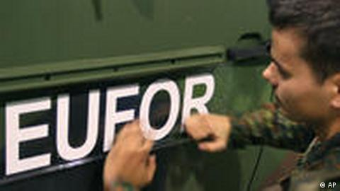 EUFOR mission in Bosnia (AP)