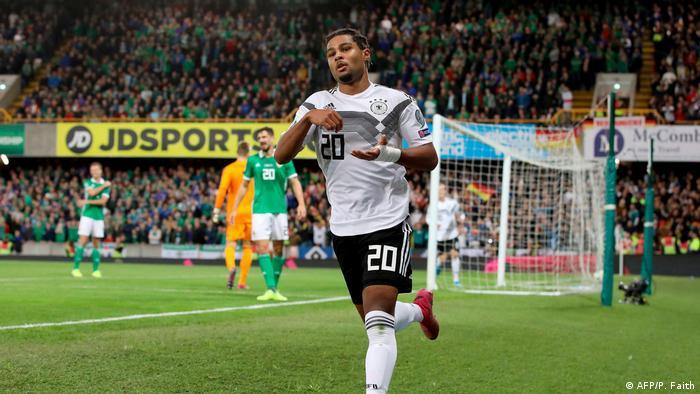 Euro 2020 Qualifikation - Nordirland vs Deutschland 0:2