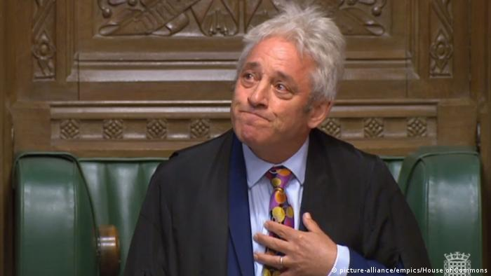 UK John Bercow kündigt seinen Rücktritt an