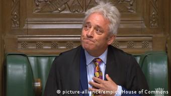 UK John Bercow kündigt seinen Rücktritt an (picture-alliance/empics/House of Commons)