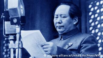 Mao Zedong - Ausrufung der Volksrepublik China (1949) (picture-alliance/United Archives/WHA)