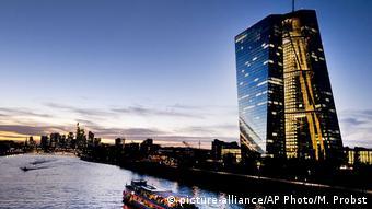 Οι νέες εγκαταστάσεις της ΕΚΤ στη συνοικία Ostend της Φρανκφούρτης