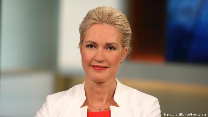Deutschland   Mecklenburg-Vorpommerns Ministerpräsidentin Manuela Schwesig