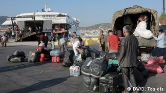 Μεταφορά προσφύγων από τη Λέσβο στην ενδοχώρα, Σεπτέμβριος 2019