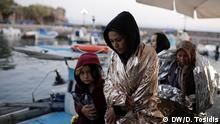 Die Lage der Flüchtlinge auf Lesbos