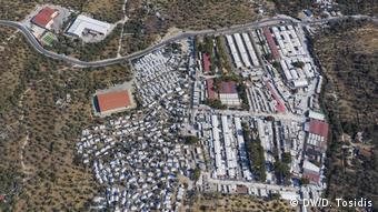 Ο προσφυγικός καταυλισμός στη Μόρια της Λέσβου