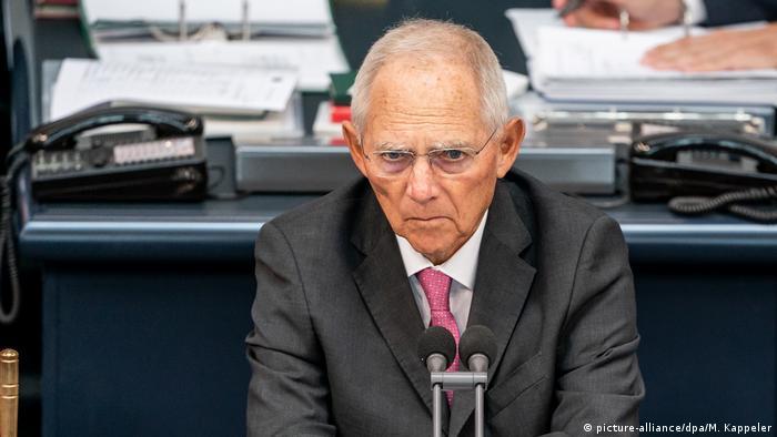 Przewodniczący Bundestagu Wolfgang Schaeuble upamiętnił 80. rocznicę napaści Niemiec na Polskę