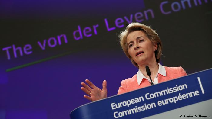 Belgien EU Kommission Ursula von der Leyen