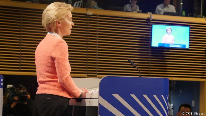 Presidente eleita da Comissão Europeia, Ursula von der Leyen