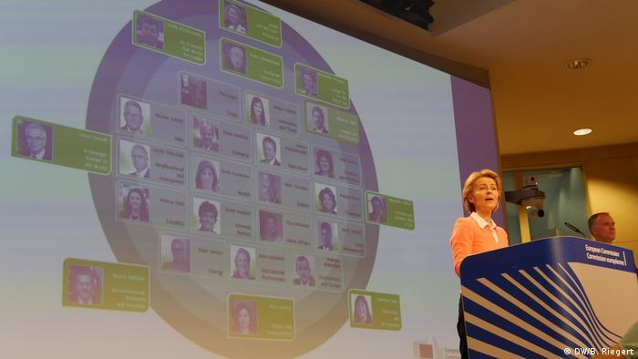 Ursula von den Leyen predstavlja svoju komisiju