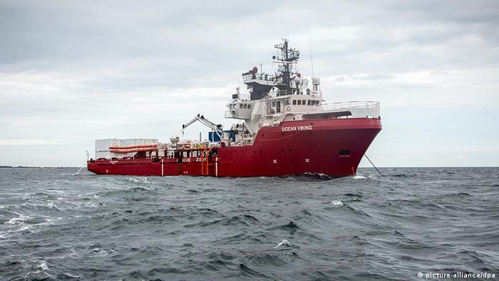 «OceanViking» nach Marseille zurückgekehrt (picture-alliance/dpa)