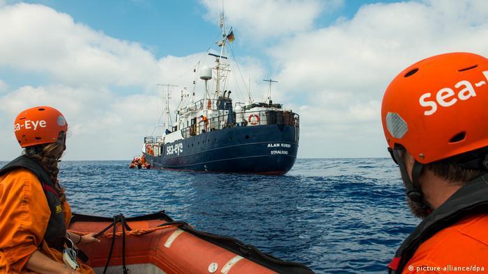 Seenotrettung im Mittelmeer - «Alan Kurdi» vor Libyen